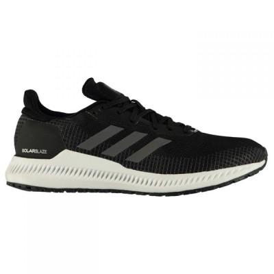 アディダス adidas メンズ ランニング・ウォーキング シューズ・靴 SolarBlaze Running Shoes Black/Grey