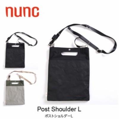 nunc ヌンク ポストショルダーL ショルダーバッグ ハンドバッグ A4サイズ
