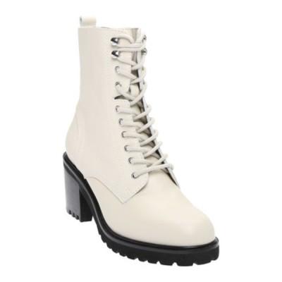 スティーブ マデン ブーツ&レインブーツ シューズ レディース Brandt Mid Calf Boot (Women's) Bone Leather