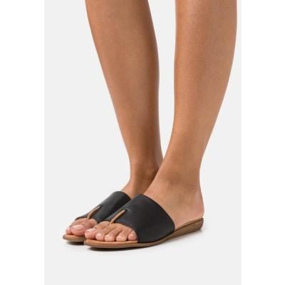 ウニサ レディース 靴 シューズ ACHO - T-bar sandals - black