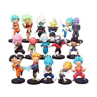 Dragon Ball Z Collectible Model   16 Piece Action Figure Set   Cake Topper, Party Favor Supplies[並行輸入品]
