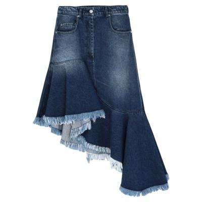 マイケル・コースコレクション MICHAEL KORS COLLECTION デニムスカート ブルー 0 コットン 100% デニムスカート
