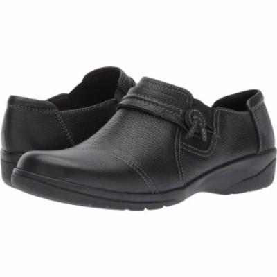 クラークス Clarks レディース シューズ・靴 Cheyn Madi Black Tumbled Leather