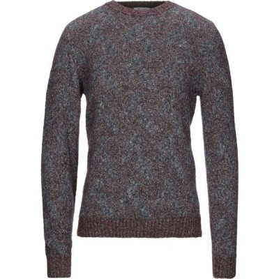 ヘリテイジ HERITAGE メンズ ニット・セーター トップス sweater Purple