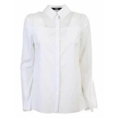 Karl Lagerfeld レディースシャツ Karl Lagerfeld shirt White