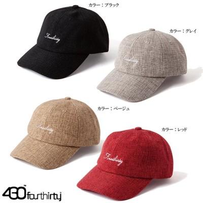 430 FOURTHIRTY フォーサーティー 6Panel Cap リネン キャップ シックスパネル 帽子 LINEN CAP 21-025 おしゃれ かっこいい モテる STREET