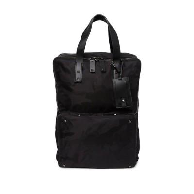 ヴァレンティノ メンズ バックパック・リュックサック バッグ Camo Backpack NERO