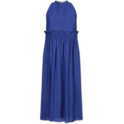 RAME 7分丈ワンピース・ドレス ブルー 0 アセテート 87% / シルク 13% 7分丈ワンピース・ドレス