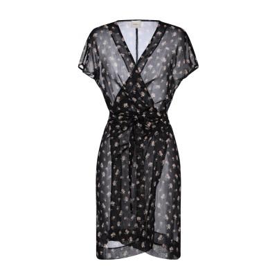 メルシー ..,MERCI ミニワンピース&ドレス ブラック 42 ポリエステル 100% ミニワンピース&ドレス