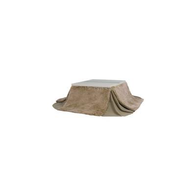 東谷 省スペースコタツ掛布団 正方形(185×185cm) (暖房器具)AZUMAYA KK-575BR 返品種別A