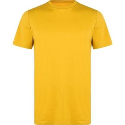 アルバム Albam メンズ Tシャツ トップス Classic T Shirt Rich Yellow