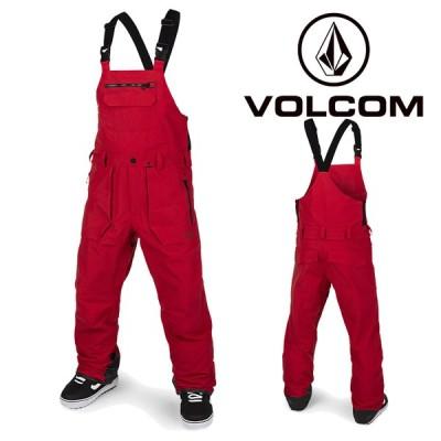 ボルコム ウェア オーバーオール 20-21 VOLCOM RAIN GORE BIB OVERALL RED-Red G1351902 スノーボード ゴアテックス ビブパンツ 日本正規品