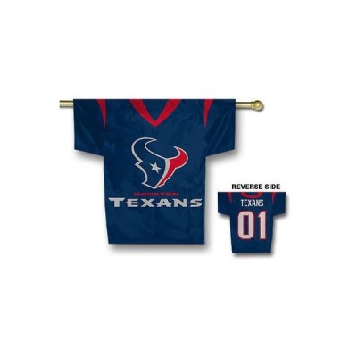フットボール NFLHouston Texans 34'' x 30'' Jersey Flag