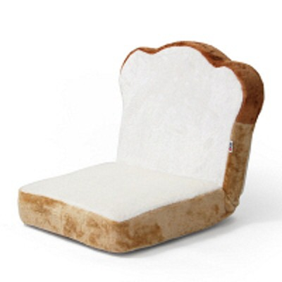 セルタンセルタン 食パン座椅子 幅470×奥行560×高さ470mm ホワイト (直送品)