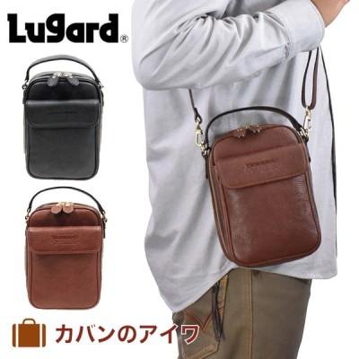 青木鞄 ショルダーバッグ バッグ メンズ Lugard ラガード NEVADA ネヴァダ ネバダ 本革 レザー 2way 日本製 ブランド 大人 4965
