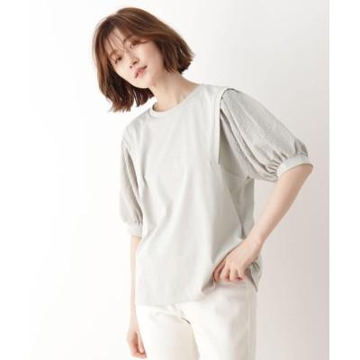 SHOO・LA・RUE/DRESKIP(シューラルー/ドレスキップ) 袖切替Tシャツ