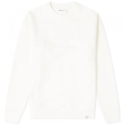 ノース・プロジェクツ トレーナー パーカー セーター メンズNorse Projects Vagn Classic Crew SweatKit White