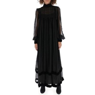 アルベルタ フェレッティ レディース ワンピース トップス Alberta Ferretti Sheer Maxi Long Dress -