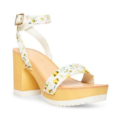 マッデンガール レディース サンダル シューズ Caprise Wooden Platform Sandals
