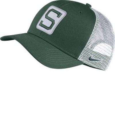 ナイキ メンズ 帽子 アクセサリー Nike Men's Michigan State Spartans Green Classic99 Trucker Hat
