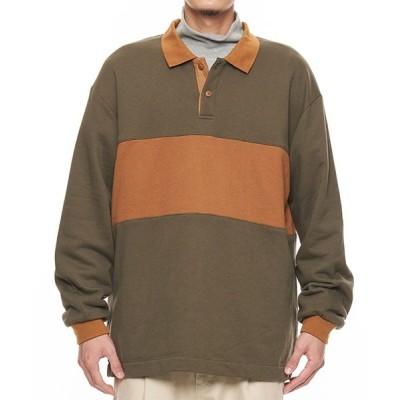 PR01. / COP パネルロングスリーブワイドラグビーシャツ MEN トップス > ポロシャツ