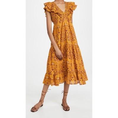 ローラー ラビット Roller Rabbit レディース ワンピース ワンピース・ドレス Rhone Ondine Dress Yellow