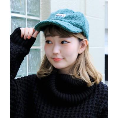14+(ICHIYON PLUS) / ボアワッペンLOWCAP / キャップ WOMEN 帽子 > キャップ