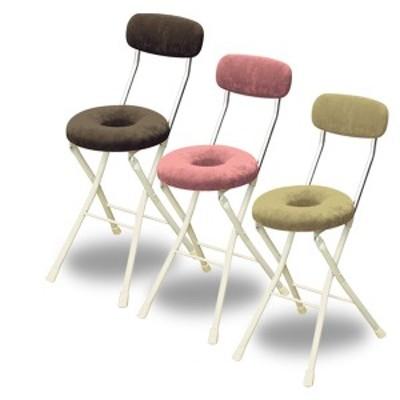 【国産】スイーツドーナツ 折りたたみチェア  DNC-48  折りたたみチェアー 折り畳みチェアー 椅子 イス いす チェア チェアー 背もたれ付