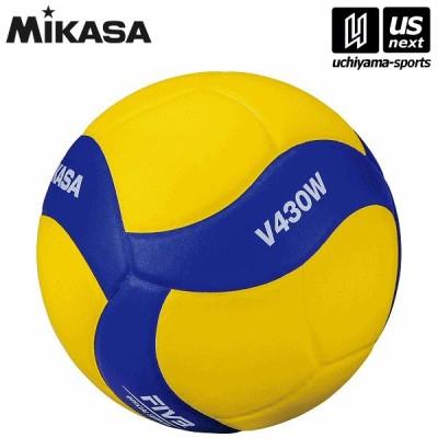 ミカサ バレーボール バレー4号 練習球 黄/青 (V430W) [取り寄せ][自社](メール便不可)
