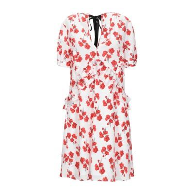 リュー ジョー LIU •JO ミニワンピース&ドレス ホワイト 40 ポリエステル 100% ミニワンピース&ドレス