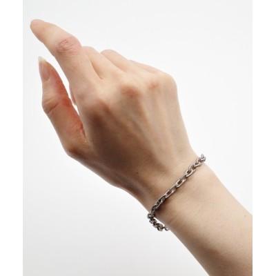 ISOLATION / Morphing wide chain bracelet MEN アクセサリー > ブレスレット