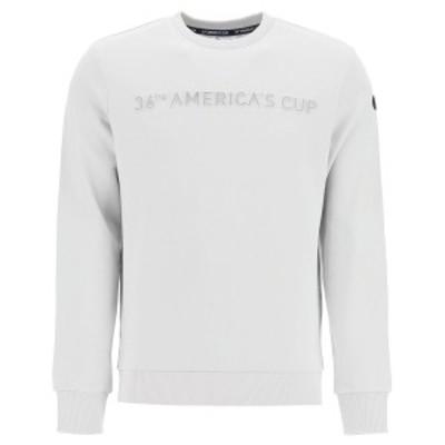 PRADA/プラダ トレーナー GREY VIOLET North sails 36th americas cup presented napier sweatshirt with graphic logo メンズ 秋冬2020