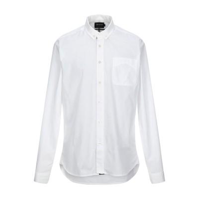 スコッチ&ソーダ SCOTCH & SODA シャツ ホワイト S コットン 100% シャツ