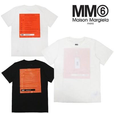 メゾンマルジェラ mm6 Tシャツ MM6 MAISON MARGIELA / TEE COTTON 半袖 グラフィックプリントTシャツ 全2色  S52GC0113-S21058