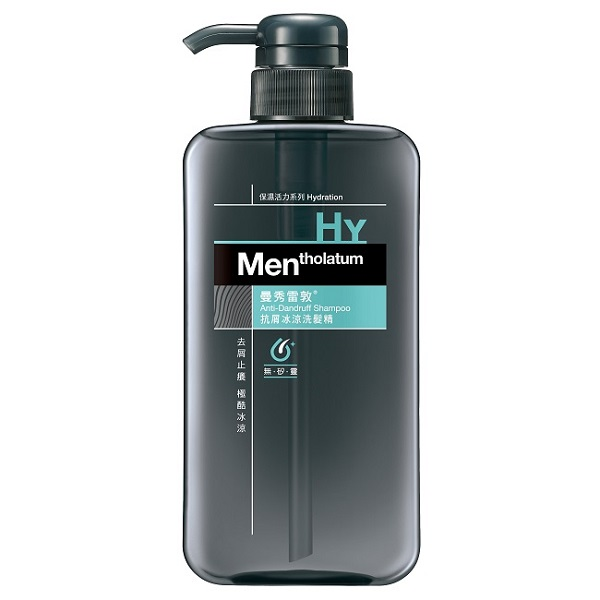 Mentholatum曼秀雷敦抗屑冰涼洗髮精550ml