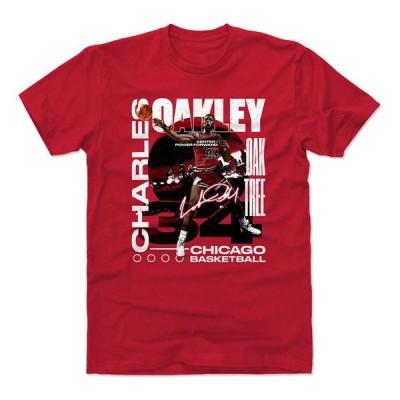 NBA シカゴ・ブルズ Tシャツ チャールズ・オークリー Graphic T-Shirt 500Level レッド