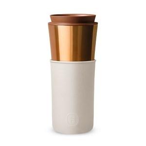 【HYDY】兩用隨行保溫杯 尤加利-古銅金 (450ml)