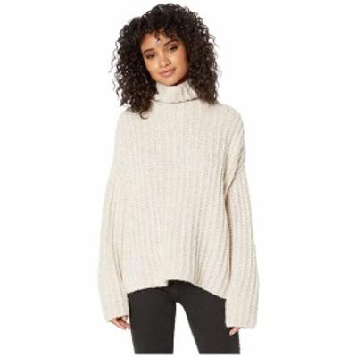 フリーピープル レディース ニット&セーター アウター Fluffy Fox Sweater Pearl