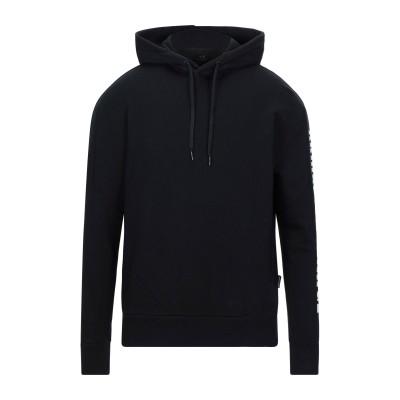 ARMANI EXCHANGE スウェットシャツ ブラック S コットン 100% / ポリウレタン スウェットシャツ