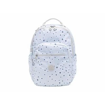 キプリング レディース バックパック・リュックサック バッグ Seoul Laptop Backpack Ocean Floral