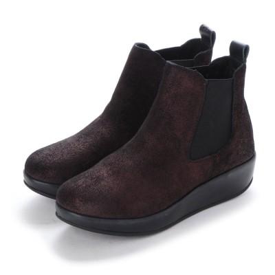 ヨーロッパコンフォートシューズ EU Comfort Shoes FLYLONDON ショートブーツ(500.901) (ボルドー)