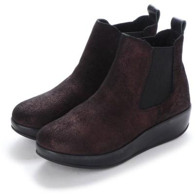 ヨーロッパコンフォートシューズ EU Comfort Shoes FLYLONDON ショートブーツ(500.901) (パープル)