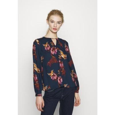 ヴェロモーダ レディース ファッション VMCRANE - Blouse - navy blazer