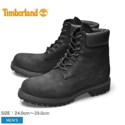 ティンバーランド ワークブーツ メンズ 6インチ プレミアム ブーツ TIMBERLAND 10073 ブラック 黒 靴 シューズ 天然皮革 レザー 冬