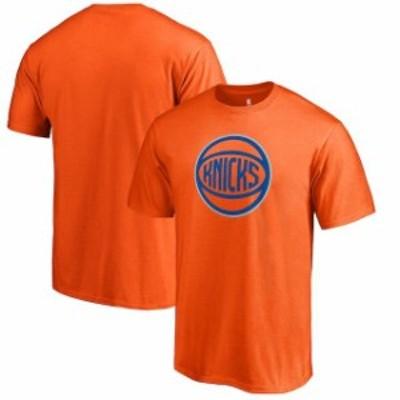 Fanatics Branded ファナティクス ブランド スポーツ用品  Fanatics Branded Orange New York Knicks Alternate Logo T-Shirt
