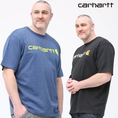 半袖 Tシャツ 大きいサイズ メンズ クルーネック LOOSE FIT シンプル ブラック/ブルー 1XL-2XL Carhartt カーハート