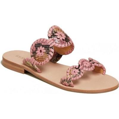 ジャックロジャース Jack Rogers レディース サンダル・ミュール シューズ・靴 Lauren Snake Sandals Pink