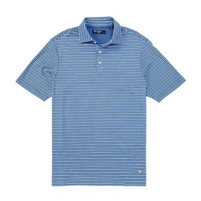 ダニエル クレミュ メンズ シャツ トップス Classic Fit Stripe Short-Sleeve Polo Shirt