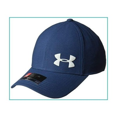 Under Armour Men's ArmourVent Training Hat, Academy (409)/Overcast Gray, Medium/Large【並行輸入品】