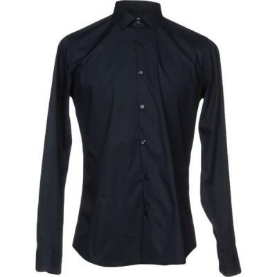 キャリバン CALIBAN メンズ シャツ トップス Solid Color Shirt Dark blue
